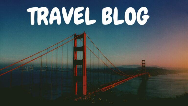 How to create a travel blog in simple steps