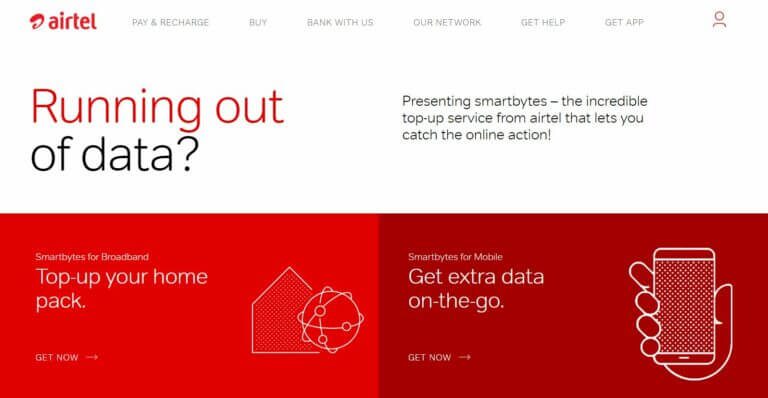 How You can Check Airtel Broadband Internet Data Usage through Airtel Smartbytes