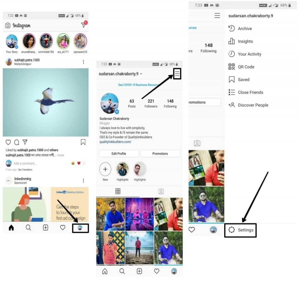 how-to-make-instagram-private